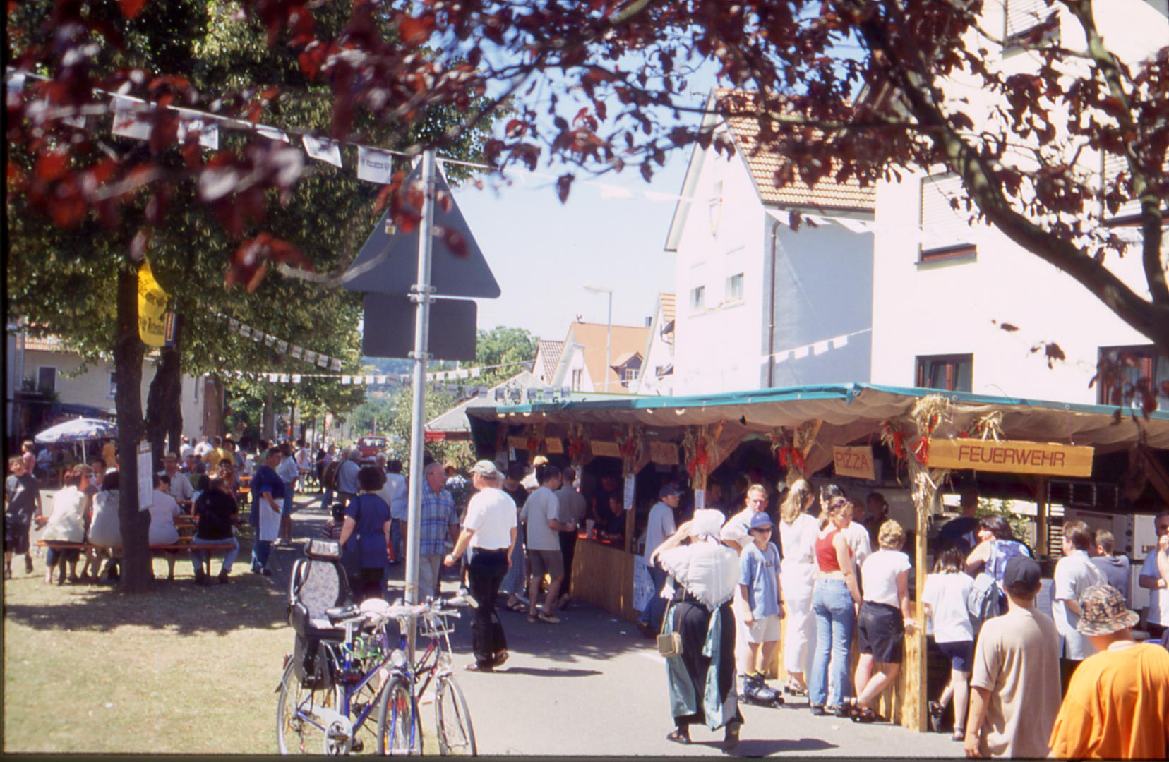 Historisches Dorffest Palmbach 2001