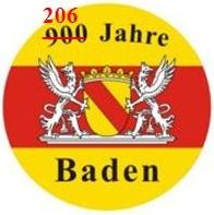 Wettersbach 206 Jahre in Baden