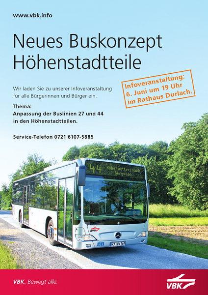 Neues Buskonzept Höhenstadtteile